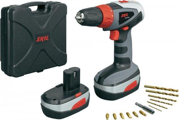 SKIL 1003 AT Akku-Bohrschrauber 18 Volt (Nächster Preis 79,95€ = 25% unter Vergleich)