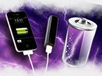 revolt Powerbank für iPhone, Handy & USB-Geräte, 2.200 mAh, schwarz