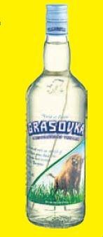 Grasovka Büffelgraswodka 0,5 l für 6,66 € im V-Markt München Balanstraße