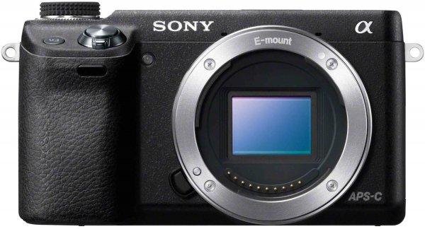 Sony NEX-6 Systemkamera Gehäuse schwarz @Amazon.fr --- 384,75 € ---