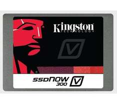 KINGSTON Interne SSD SSDNow V300 (SV300S37A/120G) - 120 GB (2,5 Zoll, SATA III) schwarz