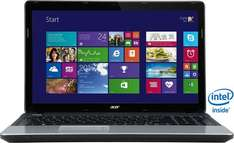 "Acer Aspire E1-510: Einfaches Office-Notebook mit 15,6"" Intel Celeron Dualcore, 4 GB RAM, 500 GB HDD und Windows 8.1 @ OTTO"