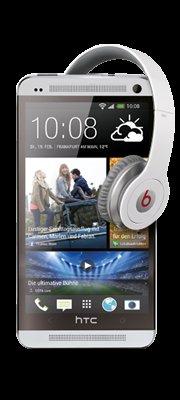 HTC One + Gratis Beats by Dr. Dre Solo Kopfhörer