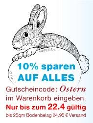 Osterdeal: Und nochmal 10% auf alle Bodenbeläge (Parkett, Laminat) bis Osterdienstag (22.04.2013)