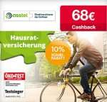 Asstel Hausratversicherung 68€ Cashback, somit teilweise Gewinn!