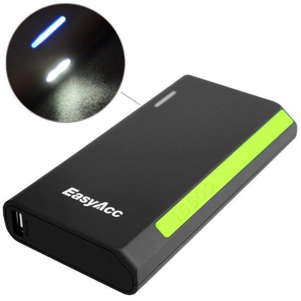 [Amazon] EasyAcc® 15600mAh Portable Power Bank Ladegerät für 29,99€