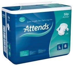 2 Gratiswindeln von Attends für Menschen mit Inkontinenz