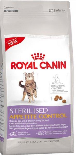 Royal Canin Gratis Katzenfutter für Fette Katzen (Sterilised Appetite Control)