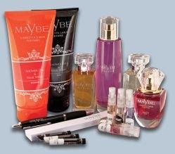 Gratis Parfum Paket / Eiweiß-Shake Probe Himbeere