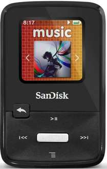 SanDisk Sansa Clip Zip MP3-Player 4GB (2,8 cm (1,1 Zoll) Display, Radio) schwarz  B Ware