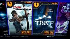 Tomb Raider Definitive Edition PS4 & Thief PS4 je 29,99$ im US PSN Store
