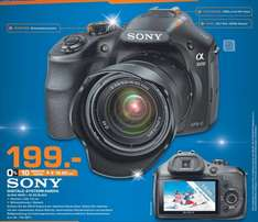 Sony Alpha 3000 Kit 18-55 mm für 199€, Galaxy Note 10.1 2014 für 429€ Lokal [Saturn Hürth]