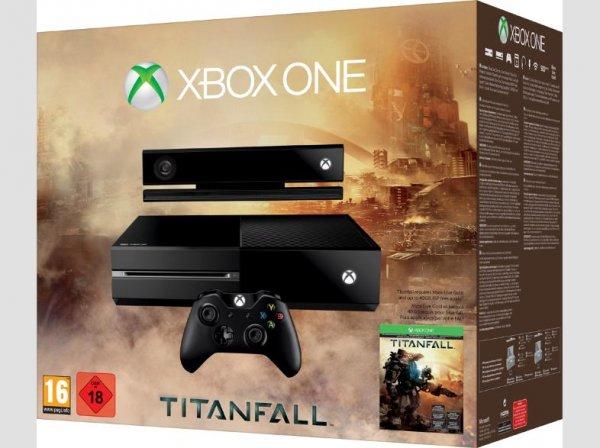 XBox One als Titanfall Bundle+2 Controller 499€, Saturn Online Shop
