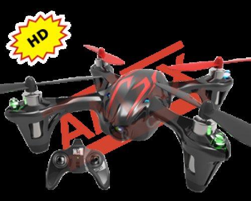 Hubsan Mini-Quadrocopter inkl. 720p Kamera für 67,98€ inkl. VSK