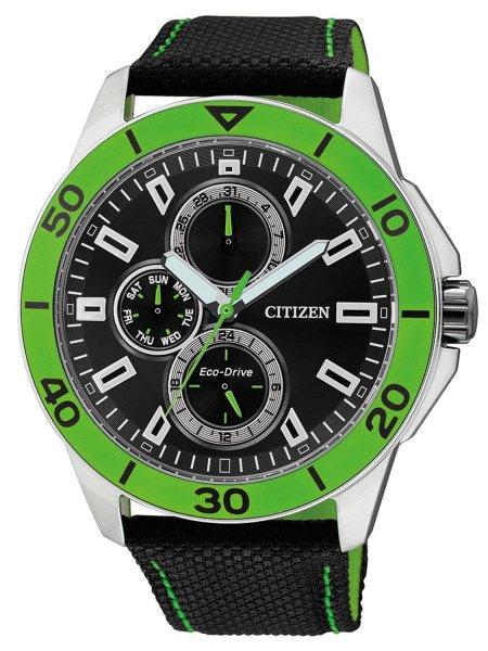 [Amazon.de] Citizen Herren-Armbanduhr XL Analog Eco-DriveTextil AP4030-06E 67,07€ nächster Preis 133€