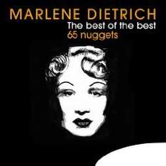 Amazon MP3 Album: Marlene Dietrich  - The Best Of The Best - 65 Nuggets  Nur 2,99 €