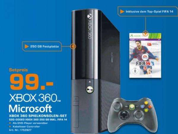 XBOX 360 250GB + FIFA 14 - Lokal Stuttgart