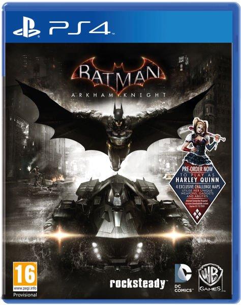 Batman: Arkham Knight (Free Pre-order DLC) PS4