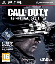 PS3 - Call Of Duty: Ghosts (Included The Freefall DLC) -> thehut.com