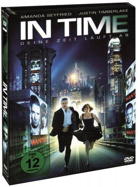 In Time - Deine Zeit läuft ab (Steelbook) DVD Deutsche Version 2,90€ inkl. Versand @ Computeruniverse nur noch 3 Stück !!!