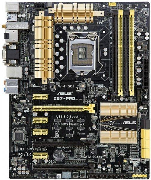 Z87-Motherboard ASUS Z87-Pro (C2) @ZackZack