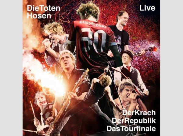 Die Toten Hosen - Der Krach der Republik – Das Tourfinale (Limitierte Special Earbook-Edition) Rock DVD + Buch für 33,00 € + ggfs. 1,99 Versandkosten bei Saturn Online