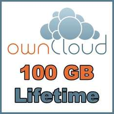 (Lifetime) Dauerhaft 100GB Cloud Space (ownCloud) in DE (WebDAV, 1000 Mbit/s)