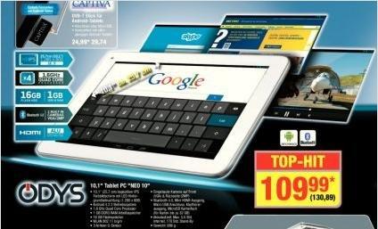 bei Metro (sollte bundesweit gelten): Odys Neo Quad 10 Tablet für 130,89€ inkl. MwSt.