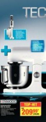 ab heute bei Metro: Küchenmaschine KMX 50 allwhite + gratis Stabmixer HB710