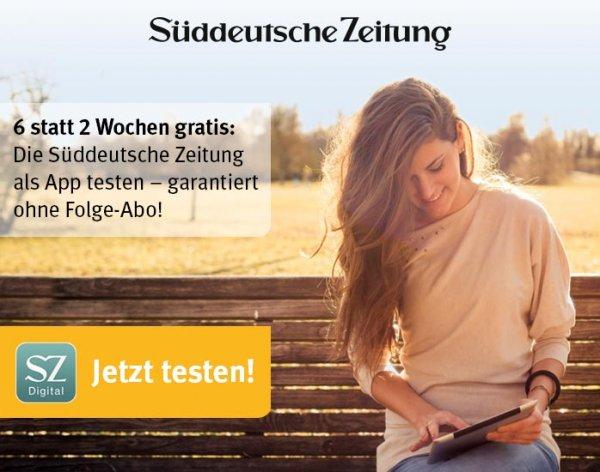 Süddeutsche Zeitung Digital 6 Wochen Kostenlos (GMX FreeMail Plus)