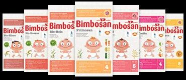 [SCHWEIZ] Bimbosan Babynahrung 4 Muster