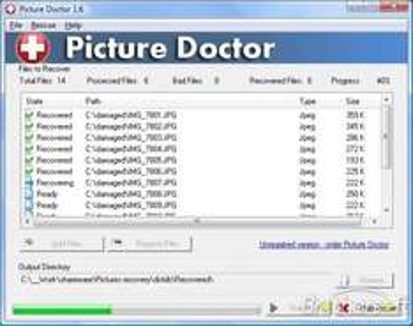 Giveaway of the Day - Picture Doctor 2.0 - Wiederherstellen beschädigter Bilder