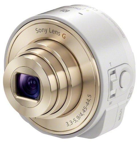 Sony DSC-QX10 in weiß für 108€ - Aufsteckkamera für jedes Handy @electronic4you