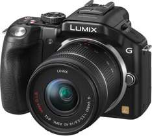 Panasonic Lumix DMC-G5KEB-K mit 14-42mm Objektiv