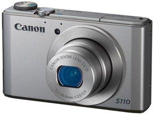 Canon Powershot S110 (silber) für 179€ + Gratis Canon Tasche DCC-1900 bei dsv24.de