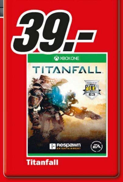 Titanfall (Xbox One) für 39€ Lokal Sonntagsangebot [Mediamarkt Herzogenrath]
