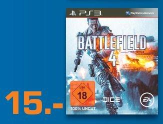 [lokal Köln] Battlefield 4 für PS3 am 30.03. Saturn Hohe Strasse für € 15,-