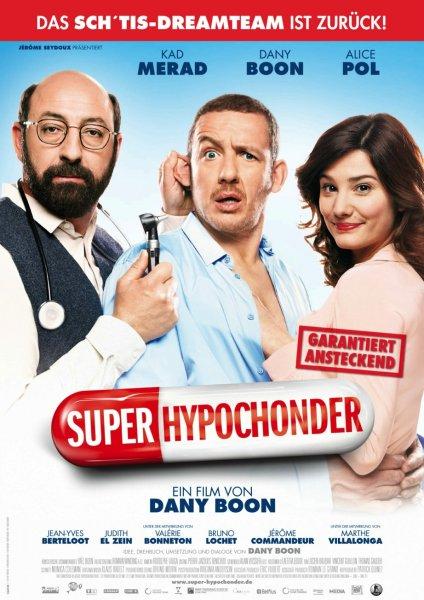 """Fast kostenlos ins Kino zu """"Super Hypochonder"""" am 02.04.2014 um 20:00 Uhr"""