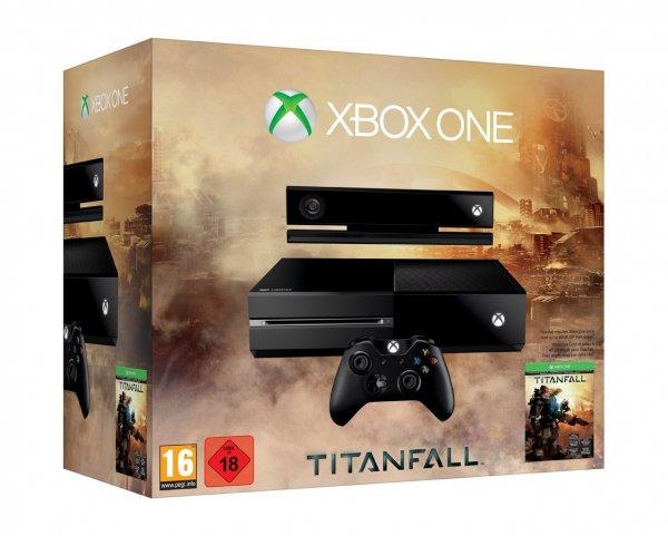 [amazon.de] Xbox One Titanfall Bundle + 2. Controller / mit Studenten-Gutschein 449€