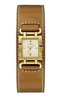 Guess Damen-Armbanduhr XS SMOOTHY Analog Quarz Leder W0153L2 @amazon.de