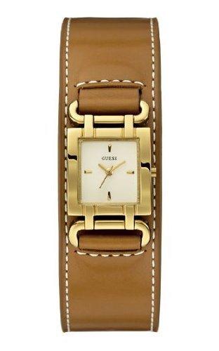Guess Damen-Armbanduhr XS SMOOTHY Analog Quarz Leder W0153L2 @amazon.de
