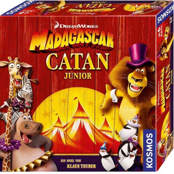 Osterdeal: Brettspiel Madagascar Catan Junior für 6,49€ Bzw. 9,49€ statt 13,94€