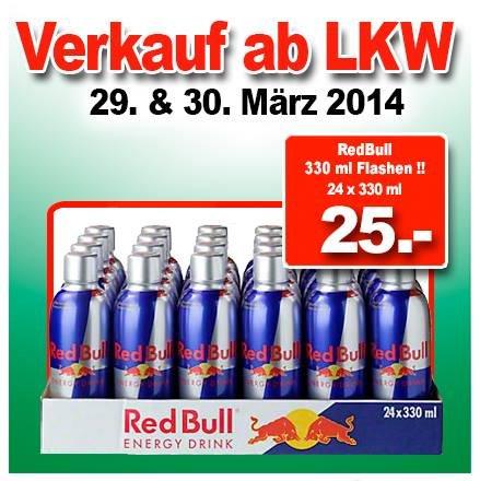 (LOKAL) in Ter Huurne an der Grenze : 24x0,33 RedBull 25€