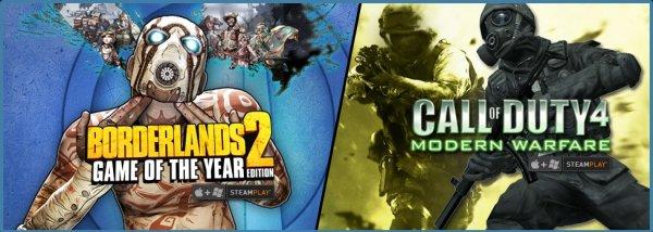 [Steam] Call of Duty 4 Modern Warfare 4,49€ / Borderlands 2  GOTY 9,99€ @ GetGames [MAC/Windows]