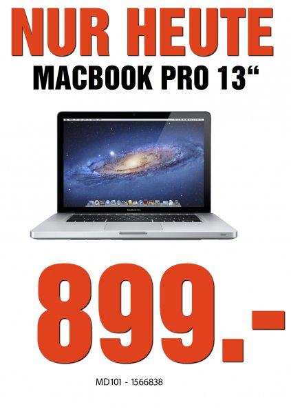 """[LOKAL MM Weiterstadt ] Macbook Pro 13"""" - MD 101 für 899€"""
