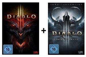 Diablo III (PC/Mac) + Diablo III: Reaper of Souls  für zusammen 44 € inkl. Vsk.