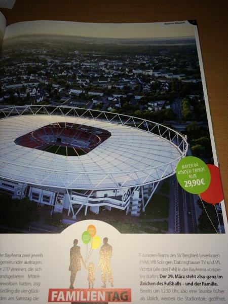 (lokal) Bayer 04 Leverkusen Heimtrikot Kinder-Trikot morgen für 29,90 Euro