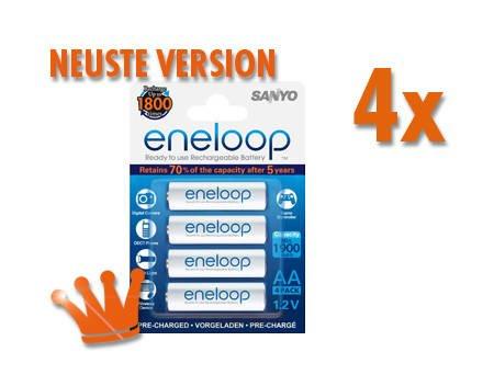 16x Eneloop AA Akkus, Stückpreis ab 1.51€