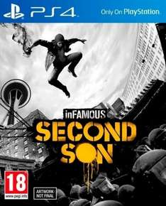 Infamous Second Son PS4 -sofort Lieferbar- SR