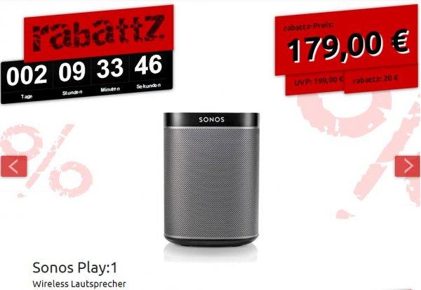 Sonos Play:1 für 179 € ohne Versandkosten - Deltatecc Rabattz